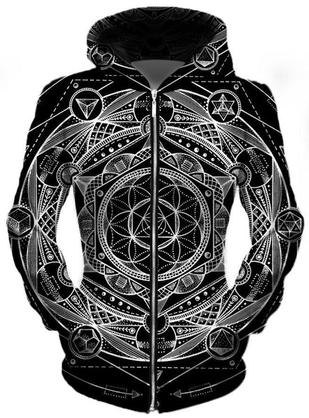 Set 4 Lyfe - Esoteric Dark Unisex Zip-Up Hoodie