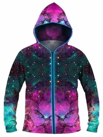 Light Up Hoodies - Extra Terrestrial Light-Up Hoodie
