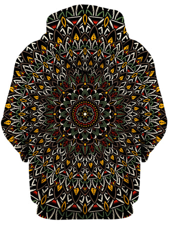 Set 4 Lyfe - Flower Mandala Unisex Zip-Up Hoodie