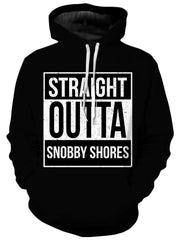 Straight Outta Snobby Shores Unisex Hoodie, iEDM, T6 - Epic Hoodie
