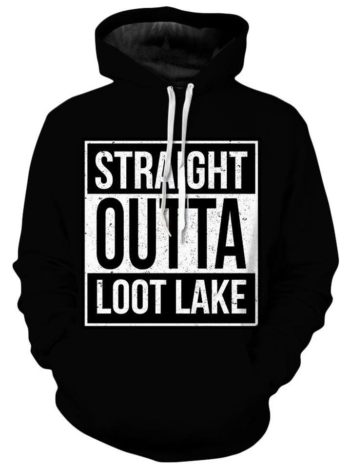 iEDM - Straight Outta Loot Lake Kids Hoodie