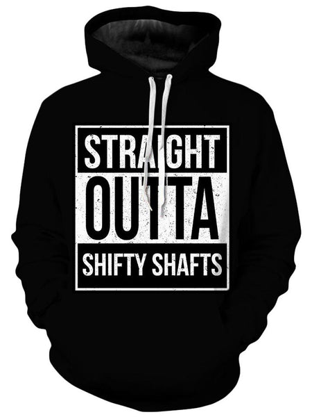 iEDM - Straight Outta Shifty Shafts Unisex Hoodie