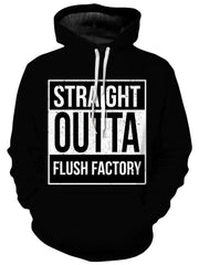 Straight Outta Flush Factory Unisex Hoodie, iEDM, T6 - Epic Hoodie