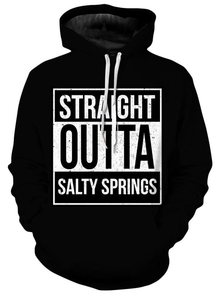 iEDM - Straight Outta Salty Springs Kids Hoodie