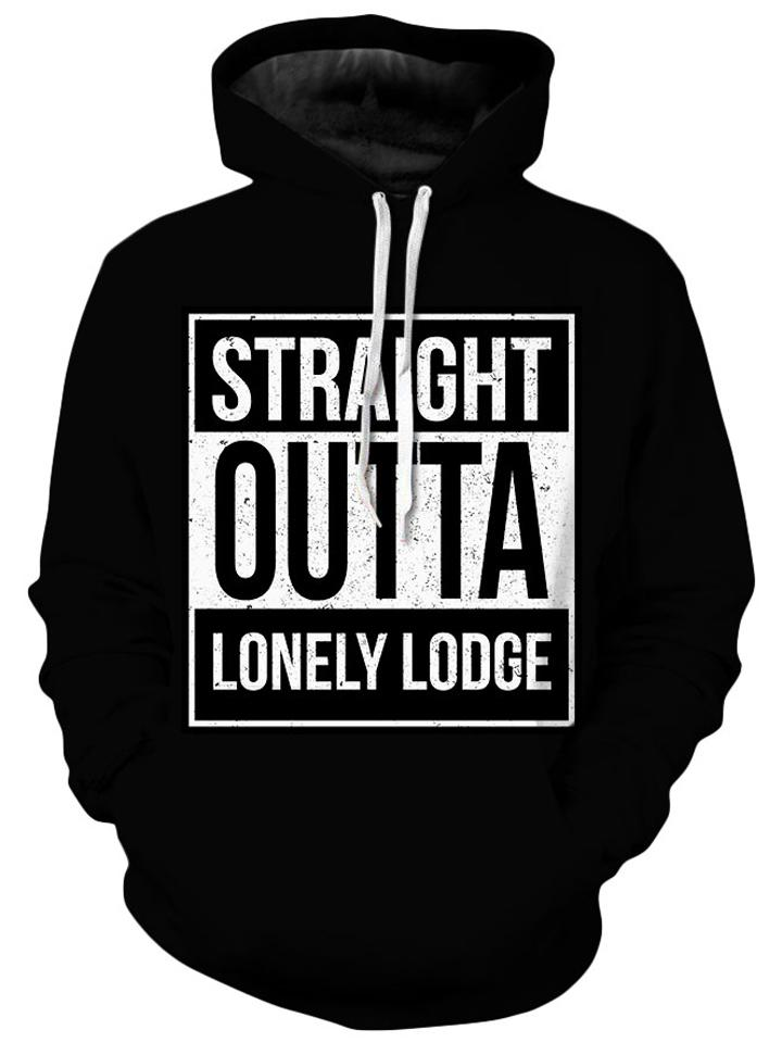iEDM - Straight Outta Lonely Lodge Unisex Hoodie