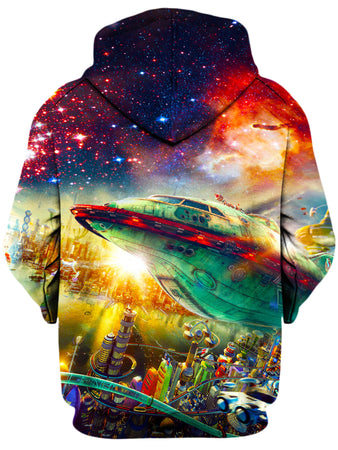On Cue Apparel - Futurama City Hoodie