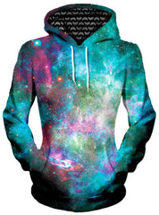Galactic Transmission Unisex Hoodie, Different Type, Gratefully Dyed Damen - Epic Hoodie