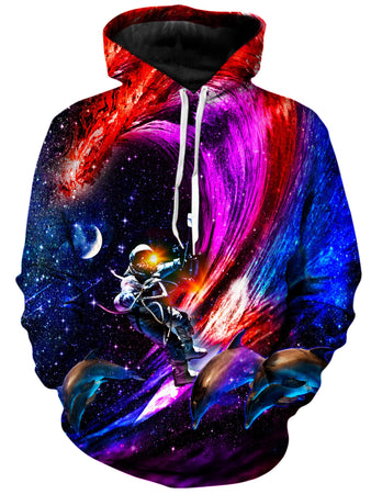 On Cue Apparel - Galactic Waves Hoodie