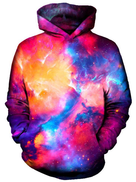 On Cue Apparel - Glossy Galaxy Hoodie