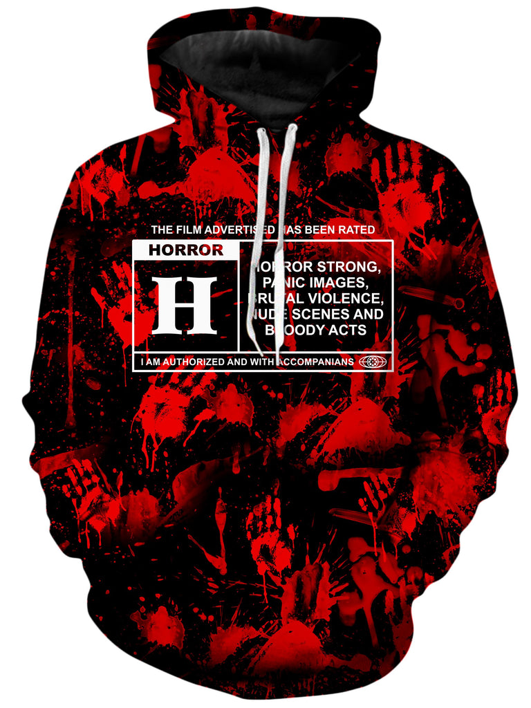 On Cue Apparel - Horror Film Hoodie