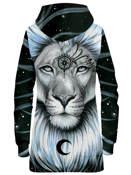 Svenja Jodicke - Lion Galaxy Hoodie Dress