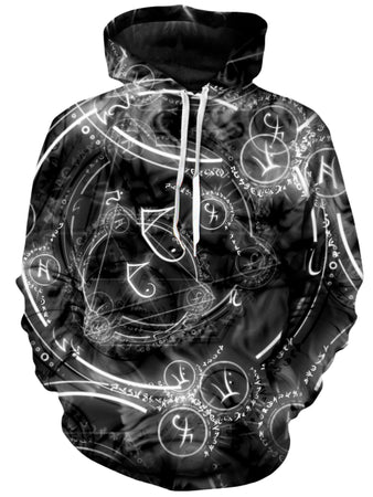 On Cue Apparel - Horoscope Circle Hoodie