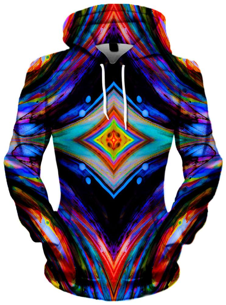 Saturated Eyes Unisex Hoodie, Different Type, Noctum X Truth - Epic Hoodie
