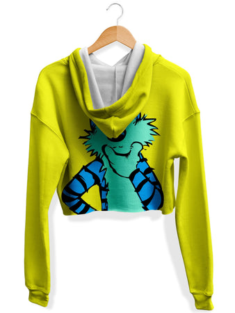Technodrome - Imaginary Friend Crop Hoodie