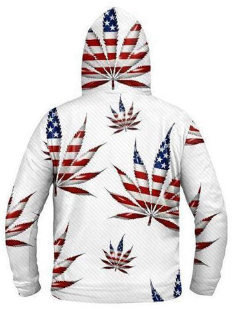 Light Up Hoodies - Legalize America Light-Up Hoodie