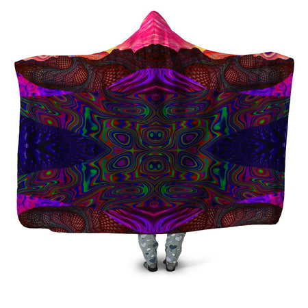 Lucid Eye Studios - Trippy Trek Hooded Blanket