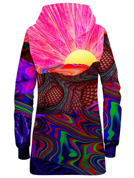 Lucid Eye Studios - Trippy Trek Hoodie Dress