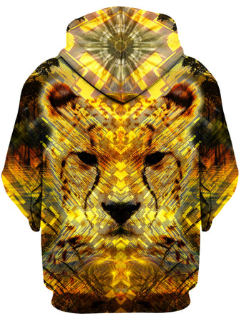 Lucid Eye Studios - Cheetah Unisex Zip-Up Hoodie