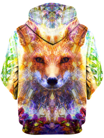 Lucid Eye Studios - Fox Unisex Zip-Up Hoodie