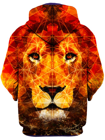 Lucid Eye Studios - King of the Jungle Unisex Zip-Up Hoodie