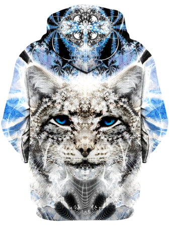 Lucid Eye Studios - Lynx Unisex Zip-Up Hoodie