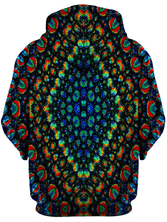 Lucid Eye Studios - Oil Mosaic Unisex Zip-Up Hoodie