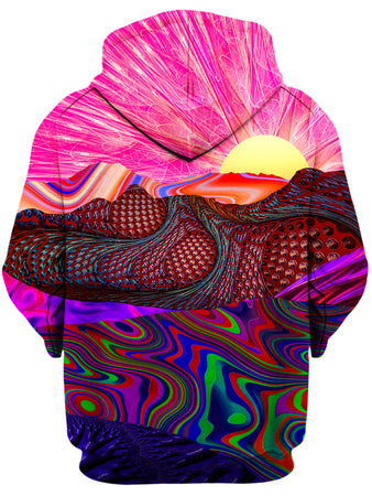 Lucid Eye Studios - Trippy Trek Unisex Zip-Up Hoodie