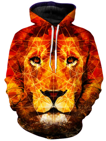 Lucid Eye Studios - King of The Jungle Unisex Hoodie