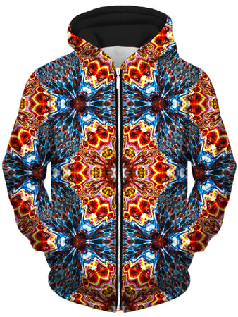 Lucid Eye Studios - Super Nova Unisex Zip-Up Hoodie
