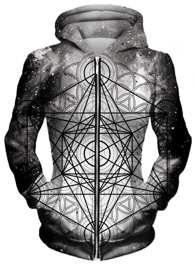 Metatronic Unisex Zip-Up Hoodie, Different Type, Set 4 Lyfe - Epic Hoodie