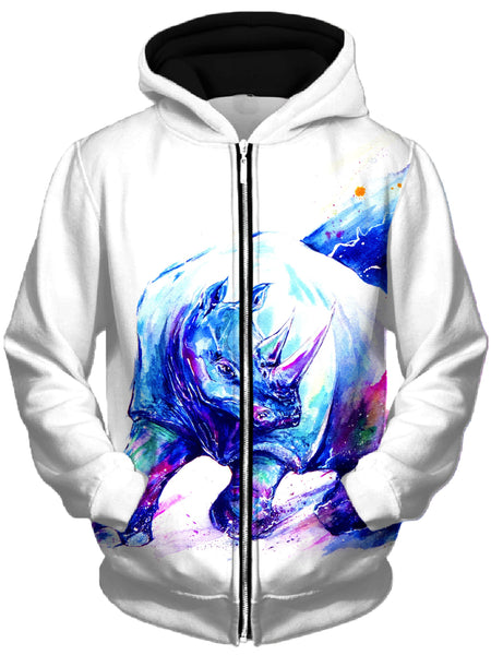 Marc Allante - Ajax Unisex Zip-Up Hoodie