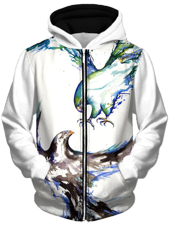 Marc Allante - Clash Unisex Zip-Up Hoodie