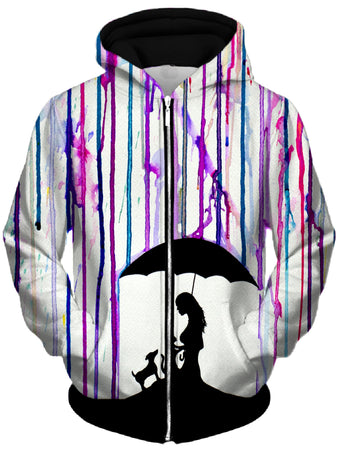 Marc Allante - Cradle Unisex Zip-Up Hoodie