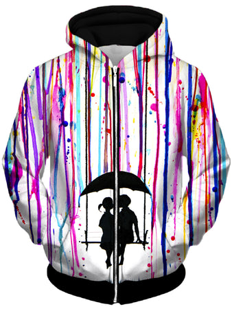 Marc Allante - Days Gone Unisex Zip-Up Hoodie