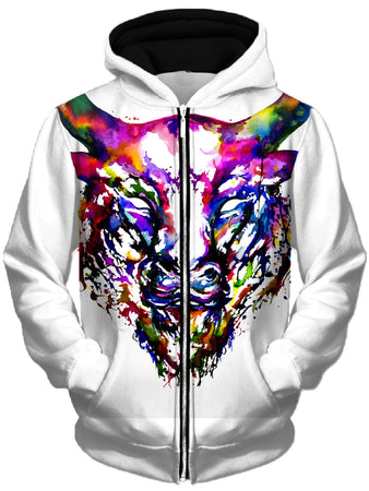 Marc Allante - Philosopher Unisex Zip-Up Hoodie