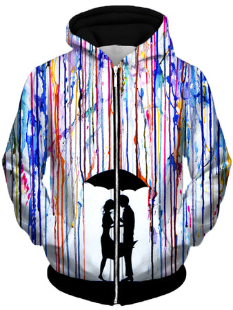 Marc Allante - Touche Unisex Zip-Up Hoodie