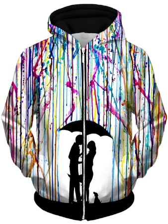 Marc Allante - Two Step Unisex Zip-Up Hoodie