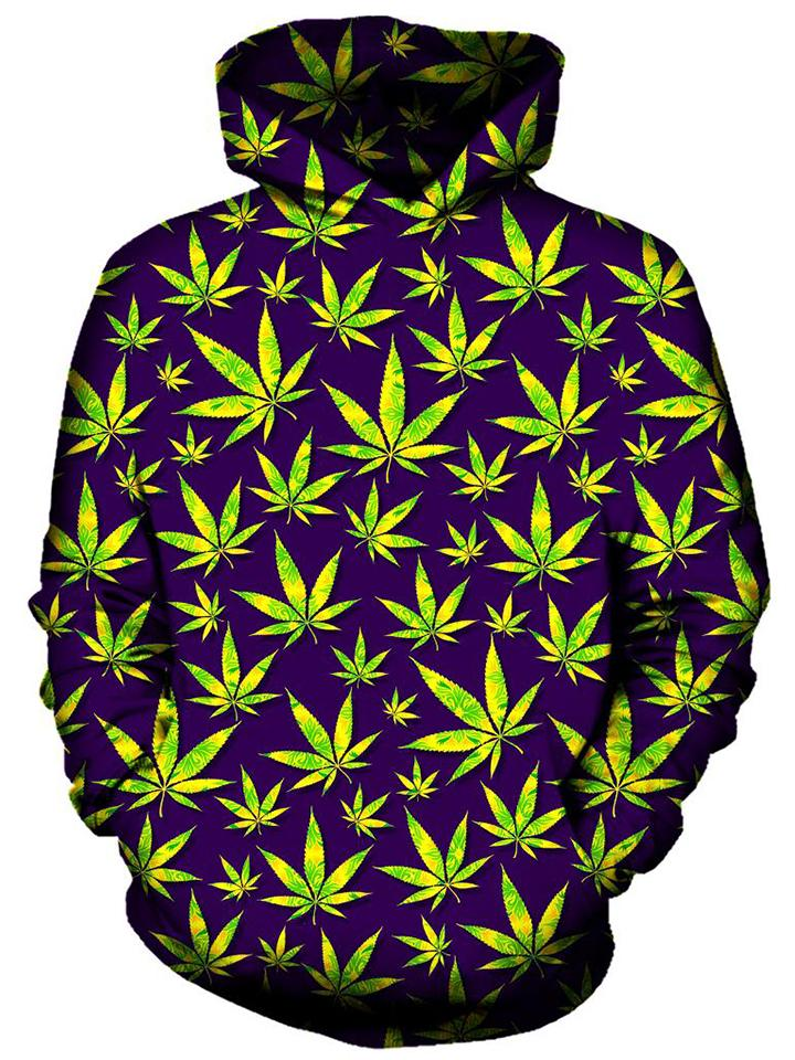 On Cue Apparel - Marijuana Leaves Hoodie