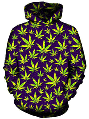 Marijuana Leaves Hoodie, On Cue Apparel, T6 - Epic Hoodie