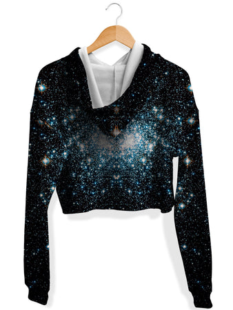 Noctum X Truth - Deep Contact Crop Hoodie