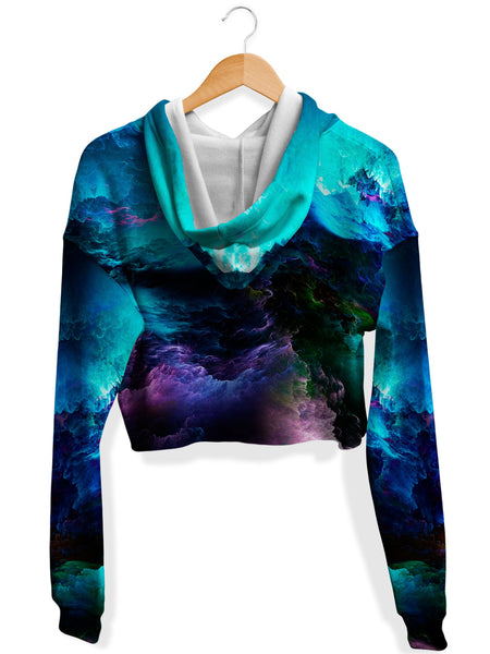 Noctum X Truth - Dream Waves Crop Hoodie