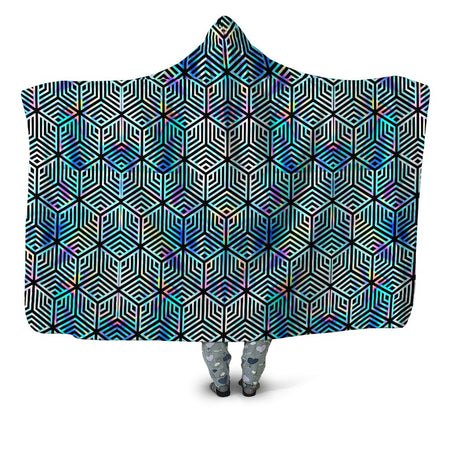Noctum X Truth - Holographic Hexagon Hooded Blanket