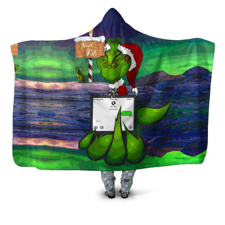 Noctum X Truth - Savage Grinch Hooded Blanket