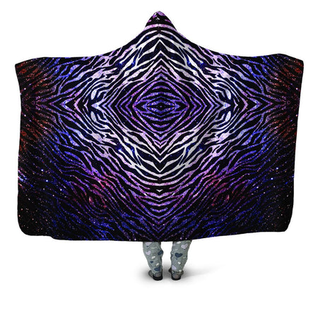 Noctum X Truth - Zebra of the Night Hooded Blanket