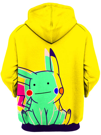 Noctum X Truth - Ditto Pikachu Unisex Zip-Up Hoodie