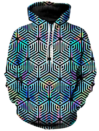 Noctum X Truth - Holographic Hexagon Unisex Hoodie