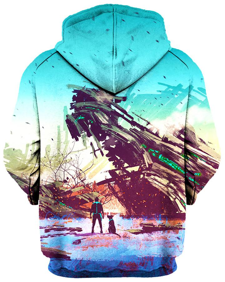 No Escape Hoodie, On Cue Apparel, T6 - Epic Hoodie