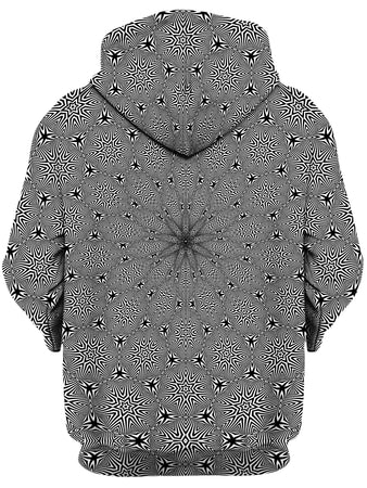 Set 4 Lyfe - Optical Star Vortex Unisex Zip-Up Hoodie