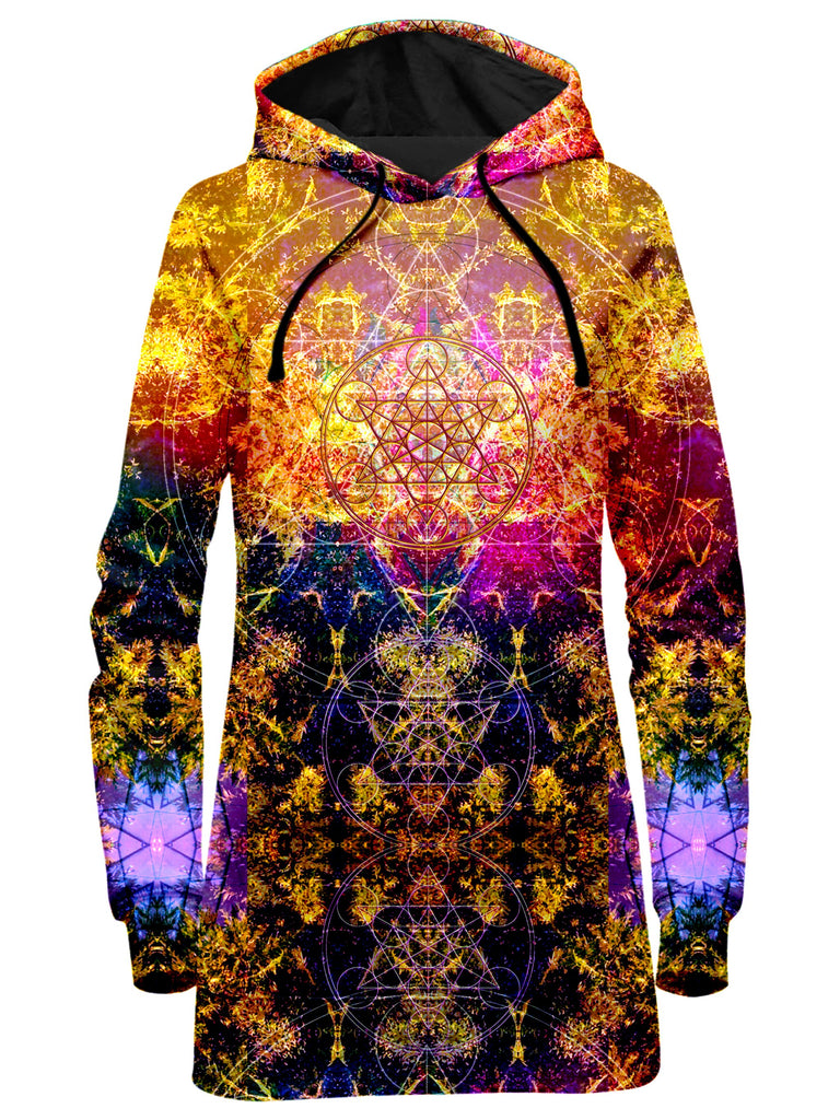 Set 4 Lyfe - Pineal Metatron Hoodie Dress