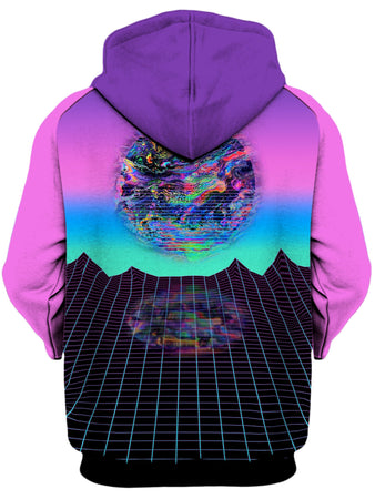 Psychedelic Pourhouse - Psychedelic Outrun Unisex Hoodie